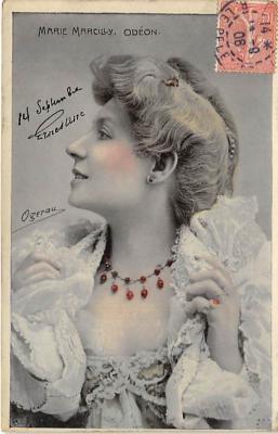 the213216 - Theater Actor / Actress Old Vintage Antique Postcard Post Card, Postales, Postkaarten, Kartpostal, Cartes, Postkarte, Ansichtskarte
