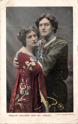 the213218 - Theater Actor / Actress Old Vintage Antique Postcard Post Card, Postales, Postkaarten, Kartpostal, Cartes, Postkarte, Ansichtskarte
