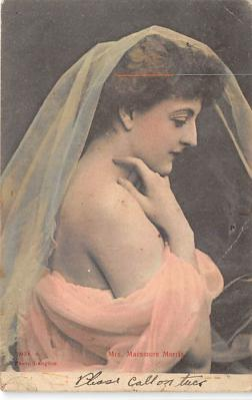 the213239 - Theater Actor / Actress Old Vintage Antique Postcard Post Card, Postales, Postkaarten, Kartpostal, Cartes, Postkarte, Ansichtskarte