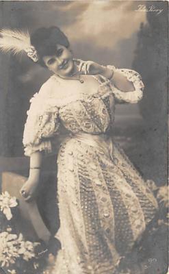 the216041 - Theater Actor / Actress Old Vintage Antique Postcard Post Card, Postales, Postkaarten, Kartpostal, Cartes, Postkarte, Ansichtskarte