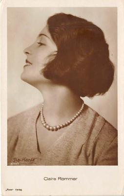 the218028 - Theater Actor / Actress Old Vintage Antique Postcard Post Card, Postales, Postkaarten, Kartpostal, Cartes, Postkarte, Ansichtskarte
