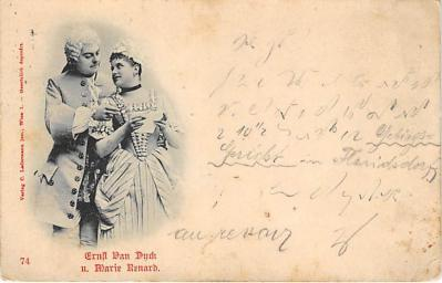 the218044 - Theater Actor / Actress Old Vintage Antique Postcard Post Card, Postales, Postkaarten, Kartpostal, Cartes, Postkarte, Ansichtskarte