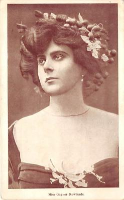 the218206 - Theater Actor / Actress Old Vintage Antique Postcard Post Card, Postales, Postkaarten, Kartpostal, Cartes, Postkarte, Ansichtskarte