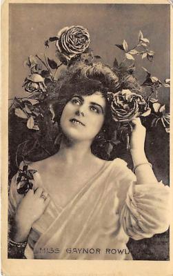 the218215 - Theater Actor / Actress Old Vintage Antique Postcard Post Card, Postales, Postkaarten, Kartpostal, Cartes, Postkarte, Ansichtskarte