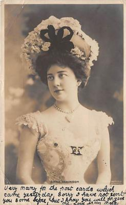 the218231 - Theater Actor / Actress Old Vintage Antique Postcard Post Card, Postales, Postkaarten, Kartpostal, Cartes, Postkarte, Ansichtskarte