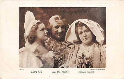 the218250 - Theater Actor / Actress Old Vintage Antique Postcard Post Card, Postales, Postkaarten, Kartpostal, Cartes, Postkarte, Ansichtskarte