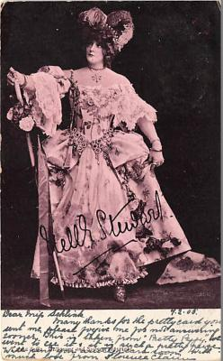 the219006 - Theater Actor / Actress Old Vintage Antique Postcard Post Card, Postales, Postkaarten, Kartpostal, Cartes, Postkarte, Ansichtskarte