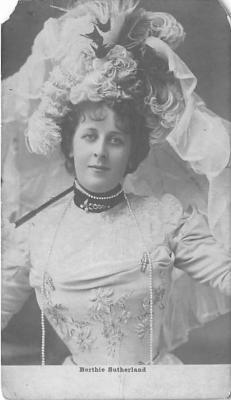the219059 - Theater Actor / Actress Old Vintage Antique Postcard Post Card, Postales, Postkaarten, Kartpostal, Cartes, Postkarte, Ansichtskarte