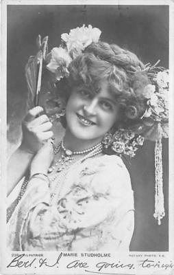 the219093 - Theater Actor / Actress Old Vintage Antique Postcard Post Card, Postales, Postkaarten, Kartpostal, Cartes, Postkarte, Ansichtskarte