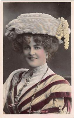 the219118 - Theater Actor / Actress Old Vintage Antique Postcard Post Card, Postales, Postkaarten, Kartpostal, Cartes, Postkarte, Ansichtskarte