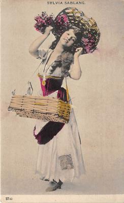 the219128 - Theater Actor / Actress Old Vintage Antique Postcard Post Card, Postales, Postkaarten, Kartpostal, Cartes, Postkarte, Ansichtskarte