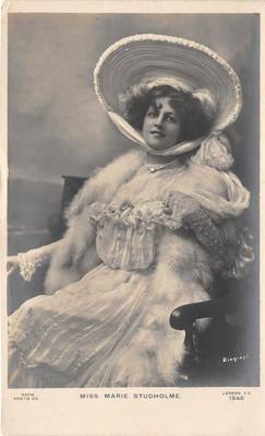 the219137 - Theater Actor / Actress Old Vintage Antique Postcard Post Card, Postales, Postkaarten, Kartpostal, Cartes, Postkarte, Ansichtskarte
