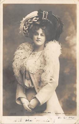 the219172 - Theater Actor / Actress Old Vintage Antique Postcard Post Card, Postales, Postkaarten, Kartpostal, Cartes, Postkarte, Ansichtskarte