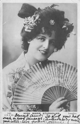 the219206 - Theater Actor / Actress Old Vintage Antique Postcard Post Card, Postales, Postkaarten, Kartpostal, Cartes, Postkarte, Ansichtskarte
