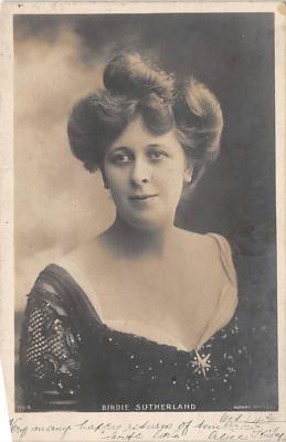 the219239 - Theater Actor / Actress Old Vintage Antique Postcard Post Card, Postales, Postkaarten, Kartpostal, Cartes, Postkarte, Ansichtskarte