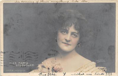 the219262 - Theater Actor / Actress Old Vintage Antique Postcard Post Card, Postales, Postkaarten, Kartpostal, Cartes, Postkarte, Ansichtskarte