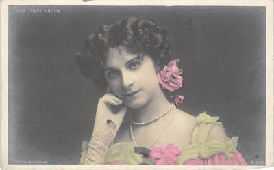 the219288 - Theater Actor / Actress Old Vintage Antique Postcard Post Card, Postales, Postkaarten, Kartpostal, Cartes, Postkarte, Ansichtskarte