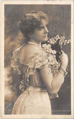 the220041 - Theater Actor / Actress Old Vintage Antique Postcard Post Card, Postales, Postkaarten, Kartpostal, Cartes, Postkarte, Ansichtskarte