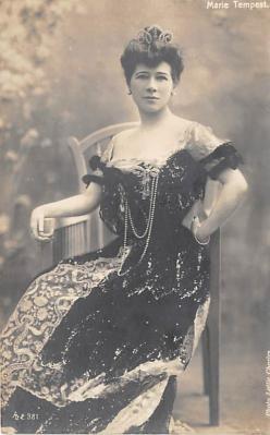 the220045 - Theater Actor / Actress Old Vintage Antique Postcard Post Card, Postales, Postkaarten, Kartpostal, Cartes, Postkarte, Ansichtskarte