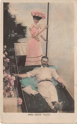 the220050 - Theater Actor / Actress Old Vintage Antique Postcard Post Card, Postales, Postkaarten, Kartpostal, Cartes, Postkarte, Ansichtskarte