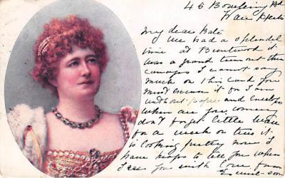 the220073 - Theater Actor / Actress Old Vintage Antique Postcard Post Card, Postales, Postkaarten, Kartpostal, Cartes, Postkarte, Ansichtskarte