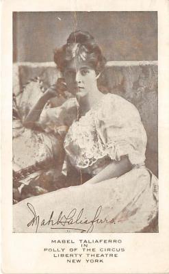 the220074 - Theater Actor / Actress Old Vintage Antique Postcard Post Card, Postales, Postkaarten, Kartpostal, Cartes, Postkarte, Ansichtskarte