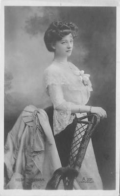 the220097 - Theater Actor / Actress Old Vintage Antique Postcard Post Card, Postales, Postkaarten, Kartpostal, Cartes, Postkarte, Ansichtskarte