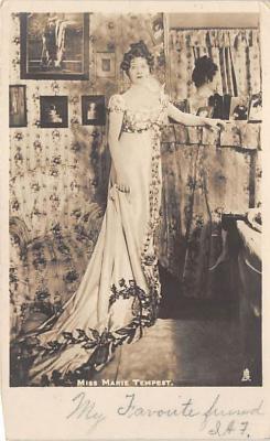 the220108 - Theater Actor / Actress Old Vintage Antique Postcard Post Card, Postales, Postkaarten, Kartpostal, Cartes, Postkarte, Ansichtskarte