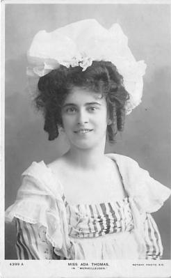 the220126 - Theater Actor / Actress Old Vintage Antique Postcard Post Card, Postales, Postkaarten, Kartpostal, Cartes, Postkarte, Ansichtskarte
