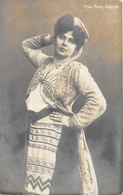 the221001 - Theater Actor / Actress Old Vintage Antique Postcard Post Card, Postales, Postkaarten, Kartpostal, Cartes, Postkarte, Ansichtskarte