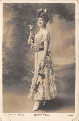the222017 - Theater Actor / Actress Old Vintage Antique Postcard Post Card, Postales, Postkaarten, Kartpostal, Cartes, Postkarte, Ansichtskarte