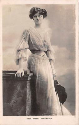 the222018 - Theater Actor / Actress Old Vintage Antique Postcard Post Card, Postales, Postkaarten, Kartpostal, Cartes, Postkarte, Ansichtskarte