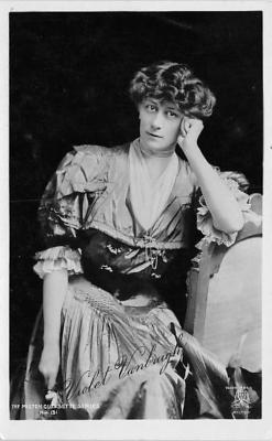 the222027 - Theater Actor / Actress Old Vintage Antique Postcard Post Card, Postales, Postkaarten, Kartpostal, Cartes, Postkarte, Ansichtskarte