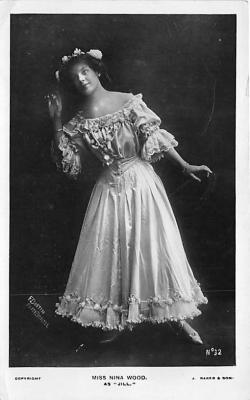 the223120 - Theater Actor / Actress Old Vintage Antique Postcard Post Card, Postales, Postkaarten, Kartpostal, Cartes, Postkarte, Ansichtskarte