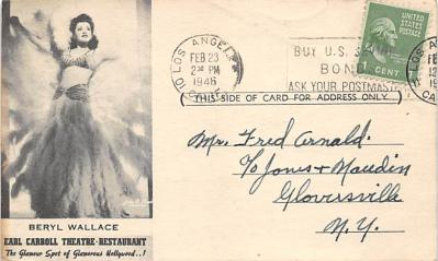 the223157 - Theater Actor / Actress Old Vintage Antique Postcard Post Card, Postales, Postkaarten, Kartpostal, Cartes, Postkarte, Ansichtskarte