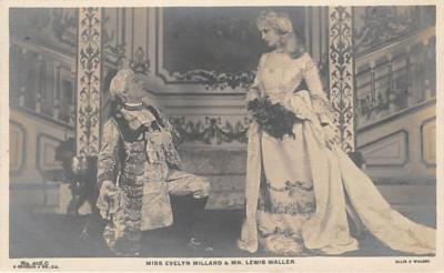 the223174 - Theater Actor / Actress Old Vintage Antique Postcard Post Card, Postales, Postkaarten, Kartpostal, Cartes, Postkarte, Ansichtskarte
