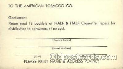 tob001007 - Tobacco Postcard Postcards