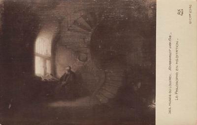 top000021 - Art Post Card,Old Vintage Artist Postcard