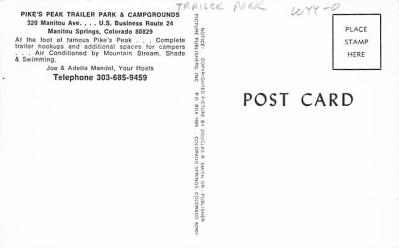 top012133 - RV Parks/Campgrounds/Trailer Parks  back