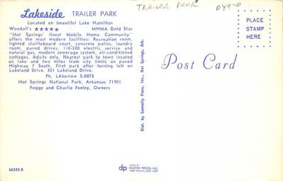 top012153 - RV Parks/Campgrounds/Trailer Parks  back