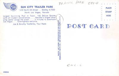 top012155 - RV Parks/Campgrounds/Trailer Parks  back