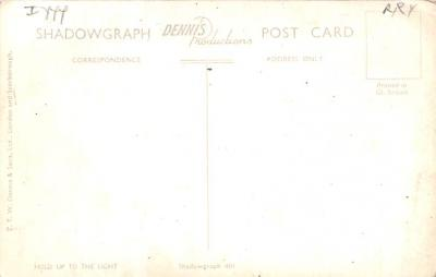 top014751 - Transparencies Hold to Light Post Card  back
