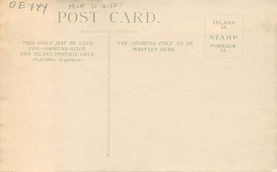 top014759 - Transparencies Hold to Light Post Card  back