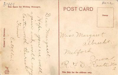 top014823 - Transparencies Hold to Light Post Card  back