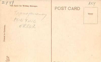 top014833 - Transparencies Hold to Light Post Card  back