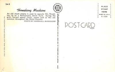 top015743 - Farming Post Card  back