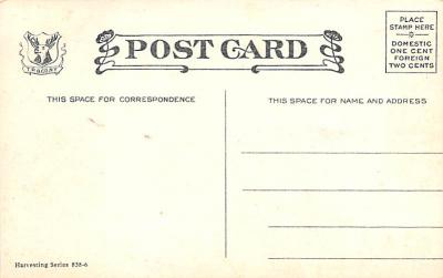 top015763 - Farming Post Card  back
