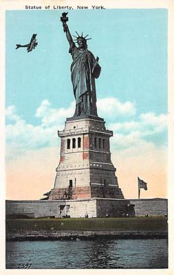 top017427 - Statue of Liberty Post Card