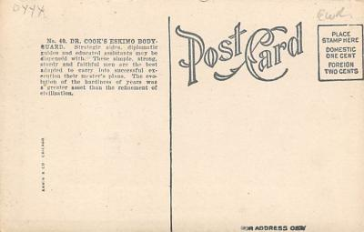 top018191 - Exploration Post Card  back