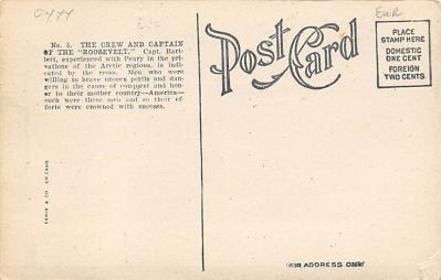 top018209 - Exploration Post Card  back